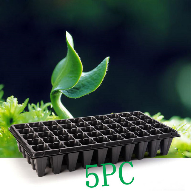 5pc 21 32 50 Holes Vegetable Flower Seeds Growing Planter Pots Tray