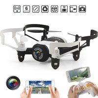 EBOYU(TM) JXD 512DW Mini Nano WIFI FPV RC Helicopter Drone Quadcopter with Altitude Hold Mode & HD Camera Headless Mode RTF