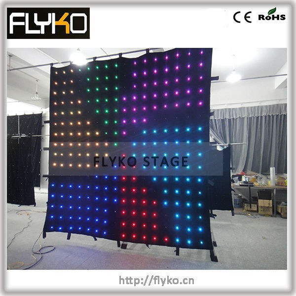 led video curtain 8