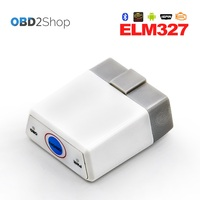 OBD II Super Mini Bluetooth Elm327 With Switch On Off Auto Diagnostic Tool Elm 327 Best