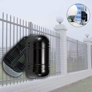 Dual Beam Infrared Detector for wall window garden security Intrusion protection 100m