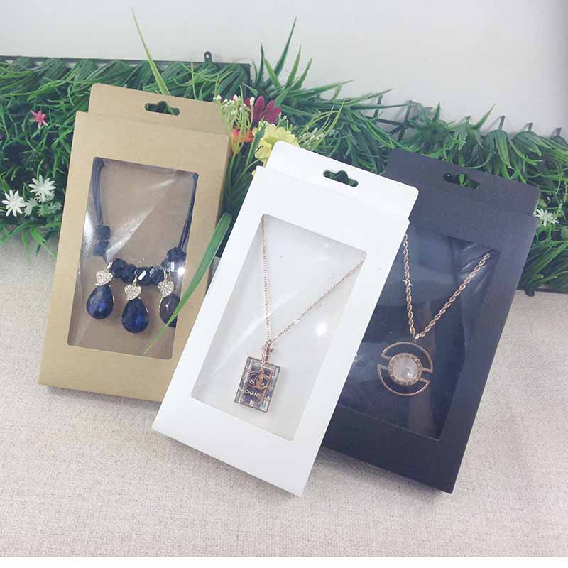 Image 4 - 2016  New Necklace Card Box   1Lot =50box  50 pcs inner Card  18x10x2cm Necklace Box Gifg BOX  Pendent  Box / Earring Casependente  boxeearrings casenecklace box
