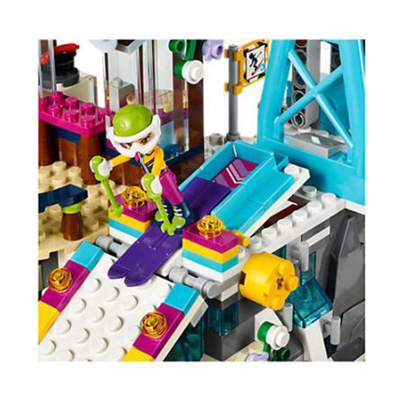 Friend Snow Resort Ski Lift 41324 Building Blocks Bricks Kids Toys 632 Pcs