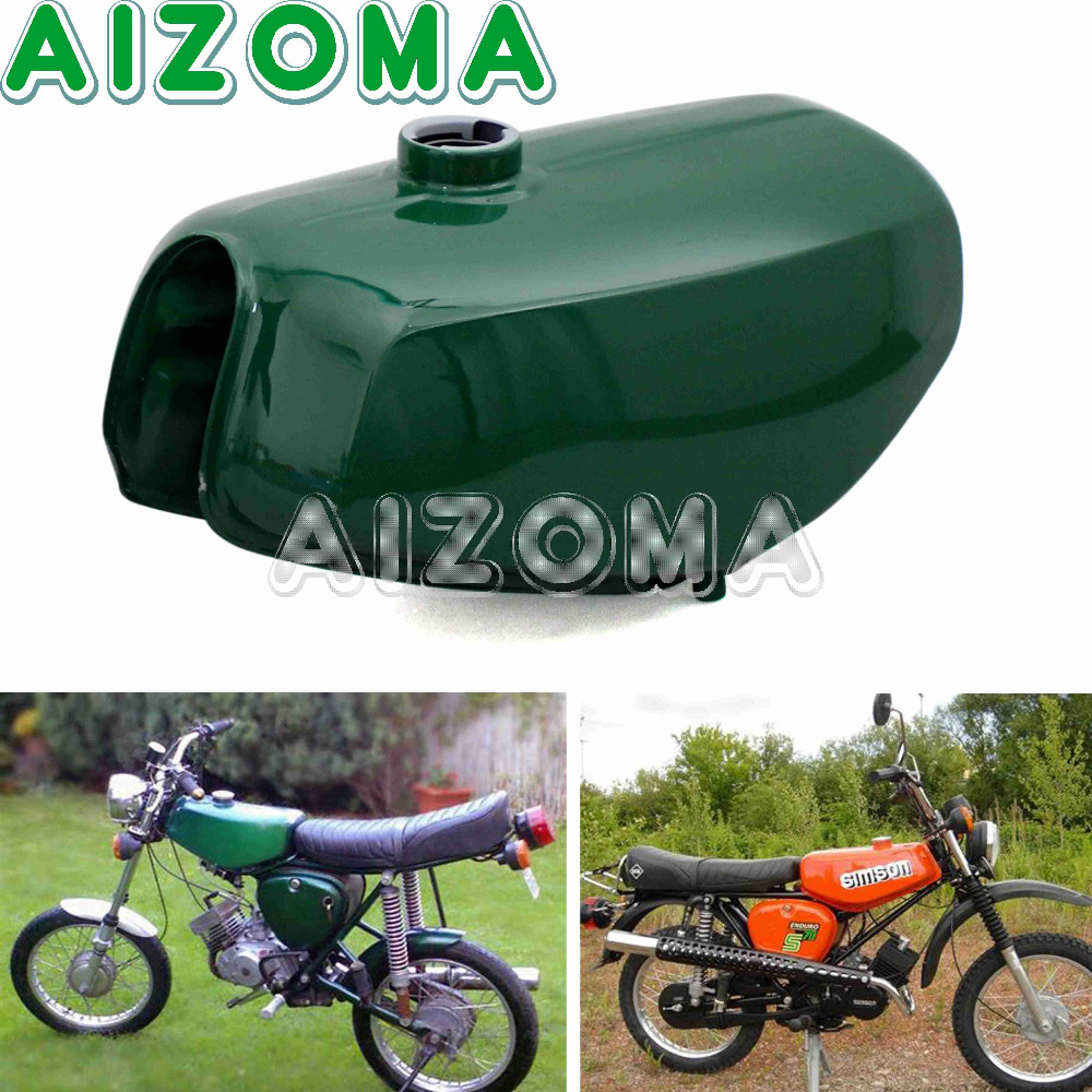 Banana Shape Oil Tank Motorcycles Orange Dark Green Steel Gas Fuel Tank 200655 For Simson S50 S51 S70 рюкзак think tank shape shifter тонкий