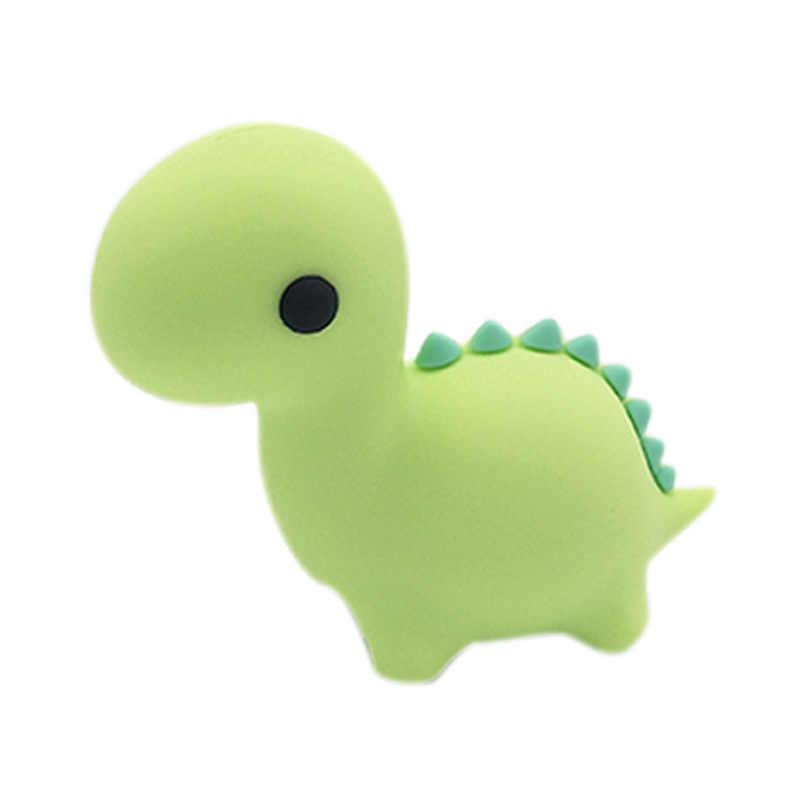 Przeciw ugryzieniem kabla kreskówka zwierzęta jurajski dinozaur przeciw ugryzieniem kabla s dla IPhone IPad ochrona linii danych Winder telefon Accessorie gniotka