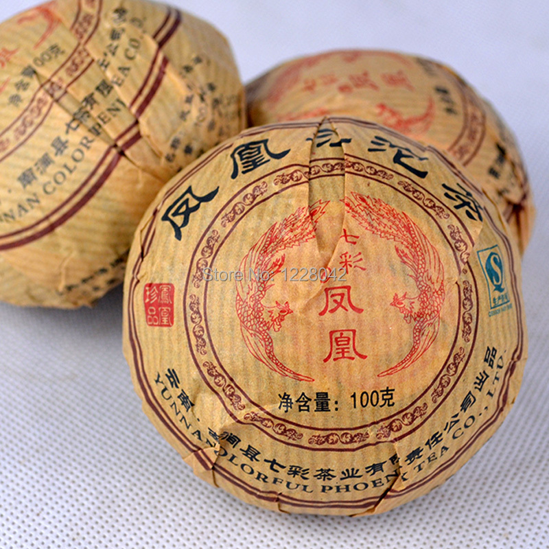 Premium Yunnan puer tea,Old Tea Tree Materials Pu erh,100g/BAG  Ripe Tuocha Tea +Secret Gift+Free shipping,A2PT10