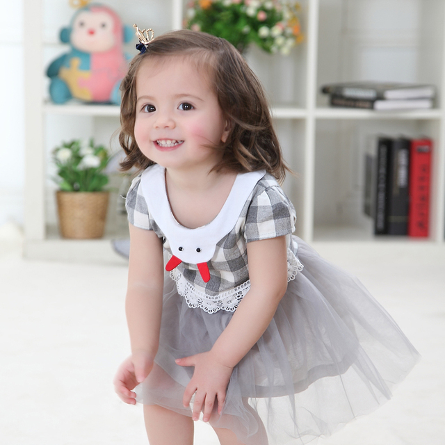 86b59a19a The Summer Baby Girl 0 1 2 3 Years Old Baby Infant Dress Summer ...