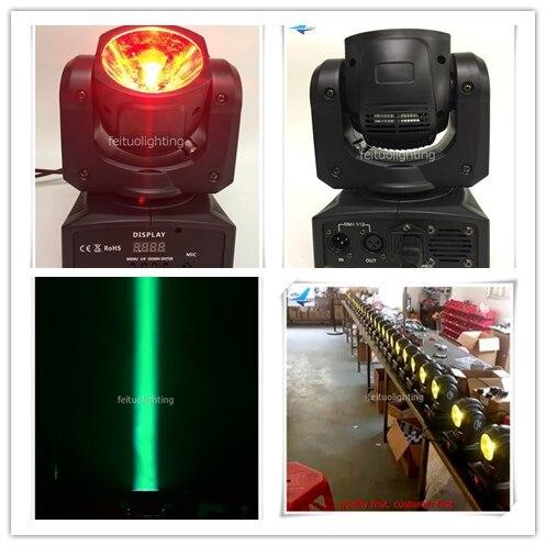 A- Beam 60 Quad RGBW LED Moving Head Beam Light 60-Watt DMX512 For Stage Light Disco DJ Wedding Party Show Live Concert Lighting