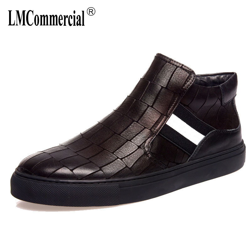 new autumn winter British retro men's shoes all-match cowhide boots men casual shoes breathable fashion asual shoes male 2017 new autumn winter british retro men shoes zipper leather shoes breathable fashion boots men casual shoes handmade f