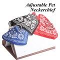 Hot New Large Adjustable Pet Dog Cat Bandana Scarf Collar Neckerchief