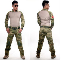 Camouflage Gear military uniform us army combat shirt cargo multicam Airsoft paintball militar tactical clothing with