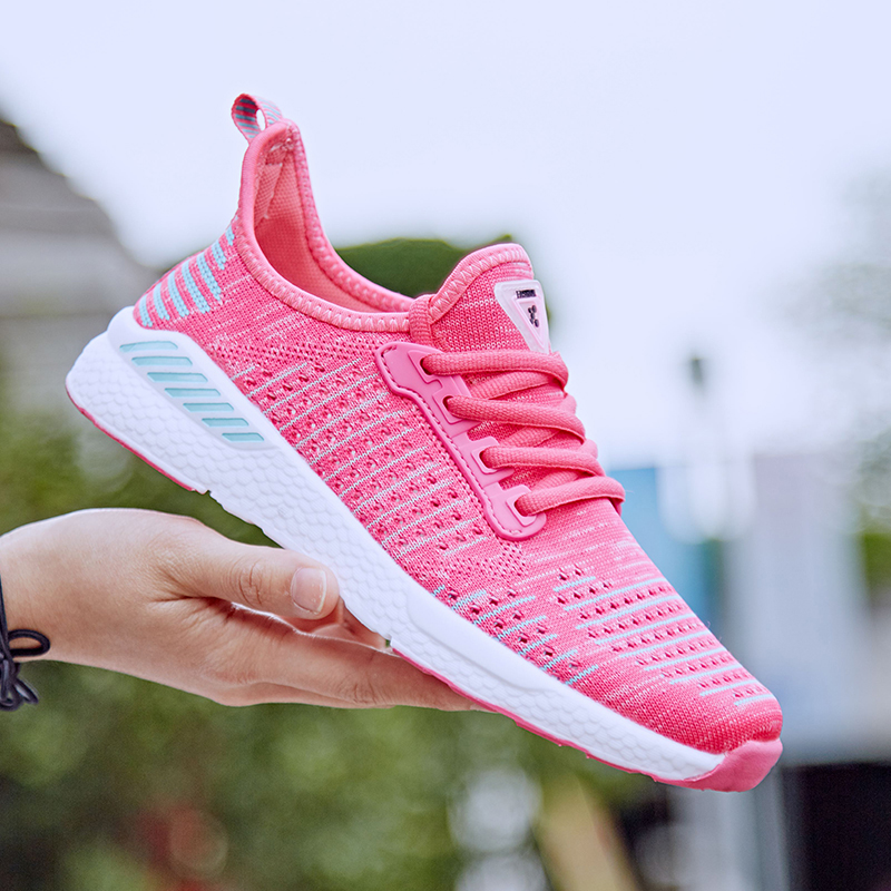 NEW 2018 Sneakers Men and Women Shoes Sports shoes Running shoes for women Breathable Athletic Trainers Outdoor Walking Jogging