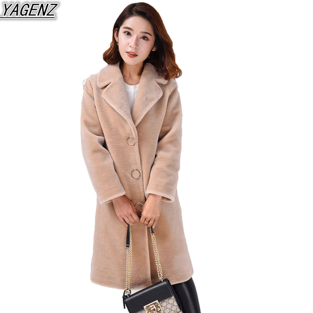 Manteau beige mouton