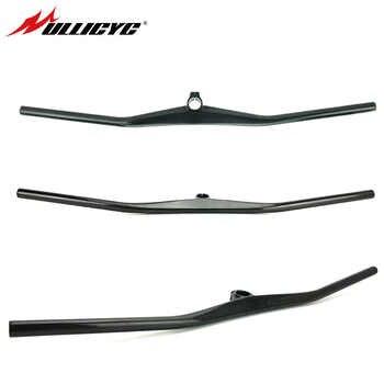 ULLICYC UD Carbon One-shaped Integrated MTB Handlebar Bicycle Riser 2° degree With 40/50/60/70mm Stem MTB Titanium screw