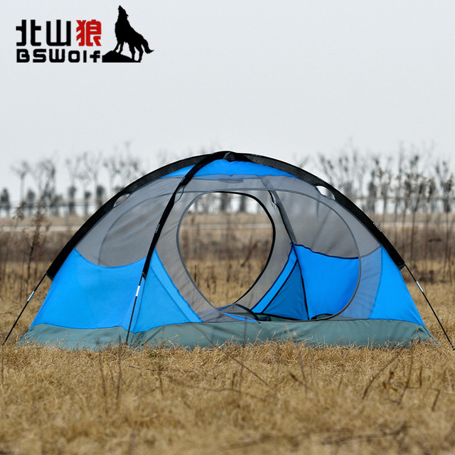 Bswolf genuine 2 people aluminum tent couple c&ing tourism mountaineering waterproof tent pop up tent  sc 1 st  AliExpress.com & Bswolf genuine 2 people aluminum tent couple camping tourism ...