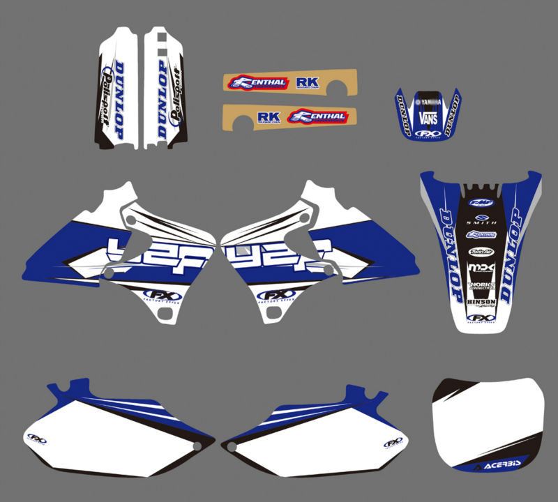 Yz426f Big Bore Kit Yz426f Yz426: GRAPHICS & BACKGROUNDS DECALS STICKERS Kits For Yamaha 4