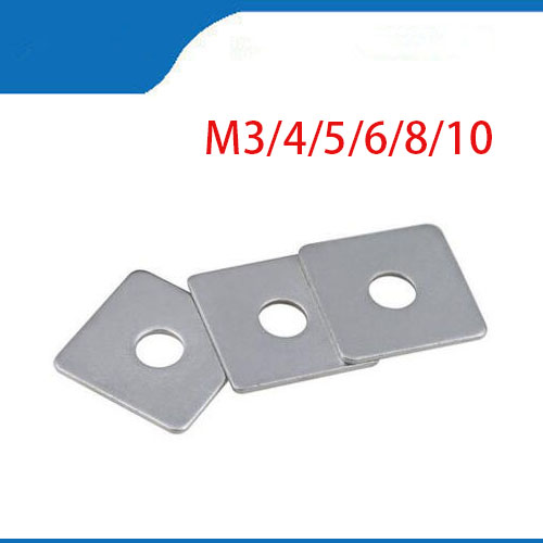 Free shipping 304 stainless steel square gasket square washer M3 M4 M5 M6 M8 M10 M12 M14 M16 curtain wall with square washer free shipping 304 stainless steel square gasket square washer m3 m4 m5 m6 m8 m10 m12 m14 m16 curtain wall with square washer