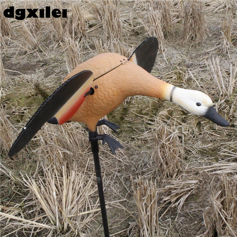 Dgxilei Ruddy Shelduck Remote Control Duck Decoys Duck Hunting Hunting Duck wholesale spain hunting duck decoys remote control 6v mallard drake decoy camouflage duck hunting from xilei