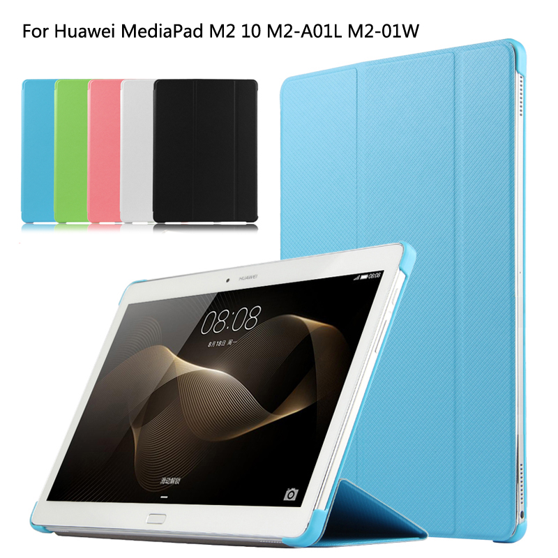 Luxury Case Cover For Huawei MediaPad M2 10.0 M2-A01W M2-A01L 10.1 Tablet  High Quality Ultra Thin Stand Leather Case+Film+Pen for mediapad m2 ultra thin smart filp pu leather case cover for huawei mediapad m2 7 tablet case stand cover protective stand