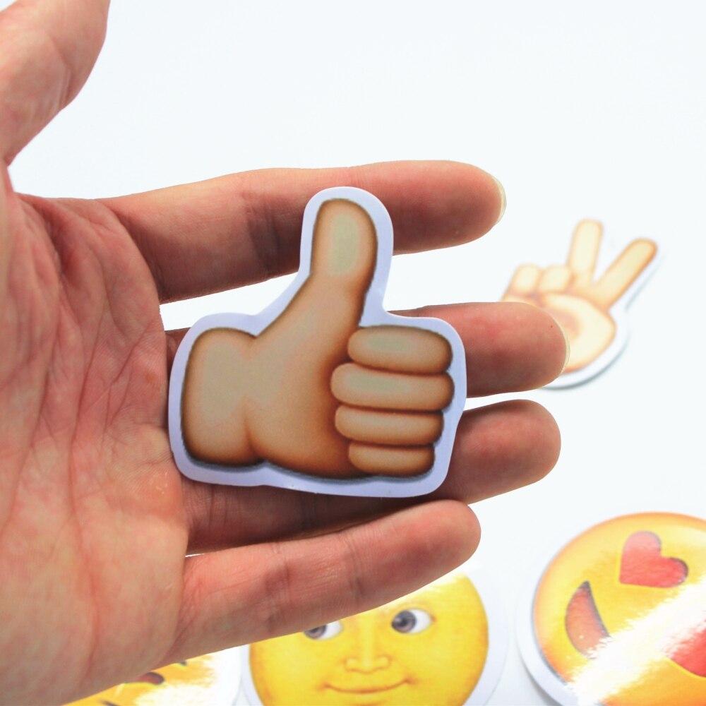 Aufkleber Sammeln & Seltenes 50 Stücke Lustige Emoji Aufkleber Spielzeug Für Kinder Cartoon Emoticon Lächeln Gesicht Decor Aufkleber Skateboard Laptop Koffer Sammelalbum Geschenke Klar Und GroßArtig In Der Art