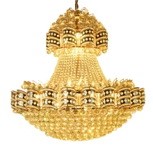 European-style k9 crystal chandelier villa Hotel Spiral staircase LED luster lights living room chandeliers Light fixture