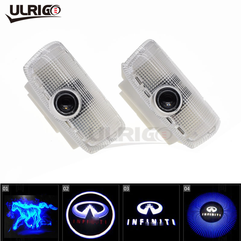 2 unids/lote LED puerta coche Logotipo de proyectores de luz de baja reflexión para Infiniti fx35 fx37 f50 g35 g37 qx56 qx60 q50 ex35|ghost shadow light|ghost shadowcar door led light - AliExpress