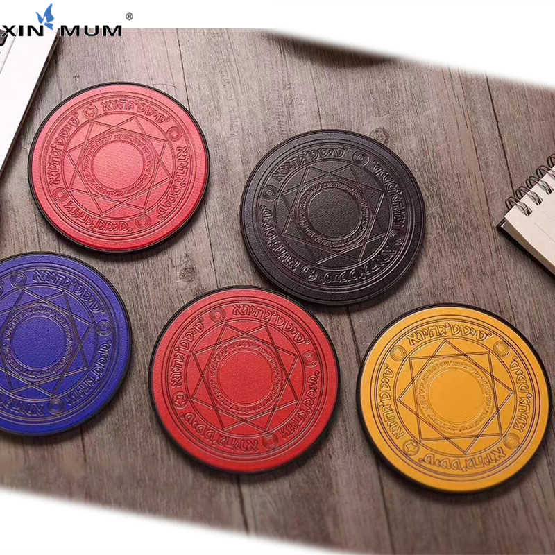 Cargador inalámbrico XIN-MUM Comic Magic Array 10W Magic Circle Qi, Cargador rápido inalámbrico Universal