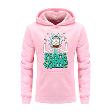 Male Bodybuilding Vespa Rick And Morty printing Hoodies Fitness Clothes Hoody Cotton Hoodie Sweatshirts Men's Suprem Hoodies(China)