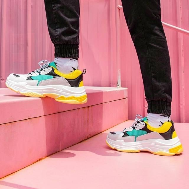 spring Harajuku Autumn vintage sneakers Men Breathable Mesh Casual Shoes men Cmfortable Fashion Tenis Masculino Adulto Sneakers