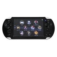 X9-S 5,1 дюймовый экран Портативный игровой плеер 8G 10000 игр ТВ выход с Mp3/фильм камера мультимедиа видео ретро мини игра Conso