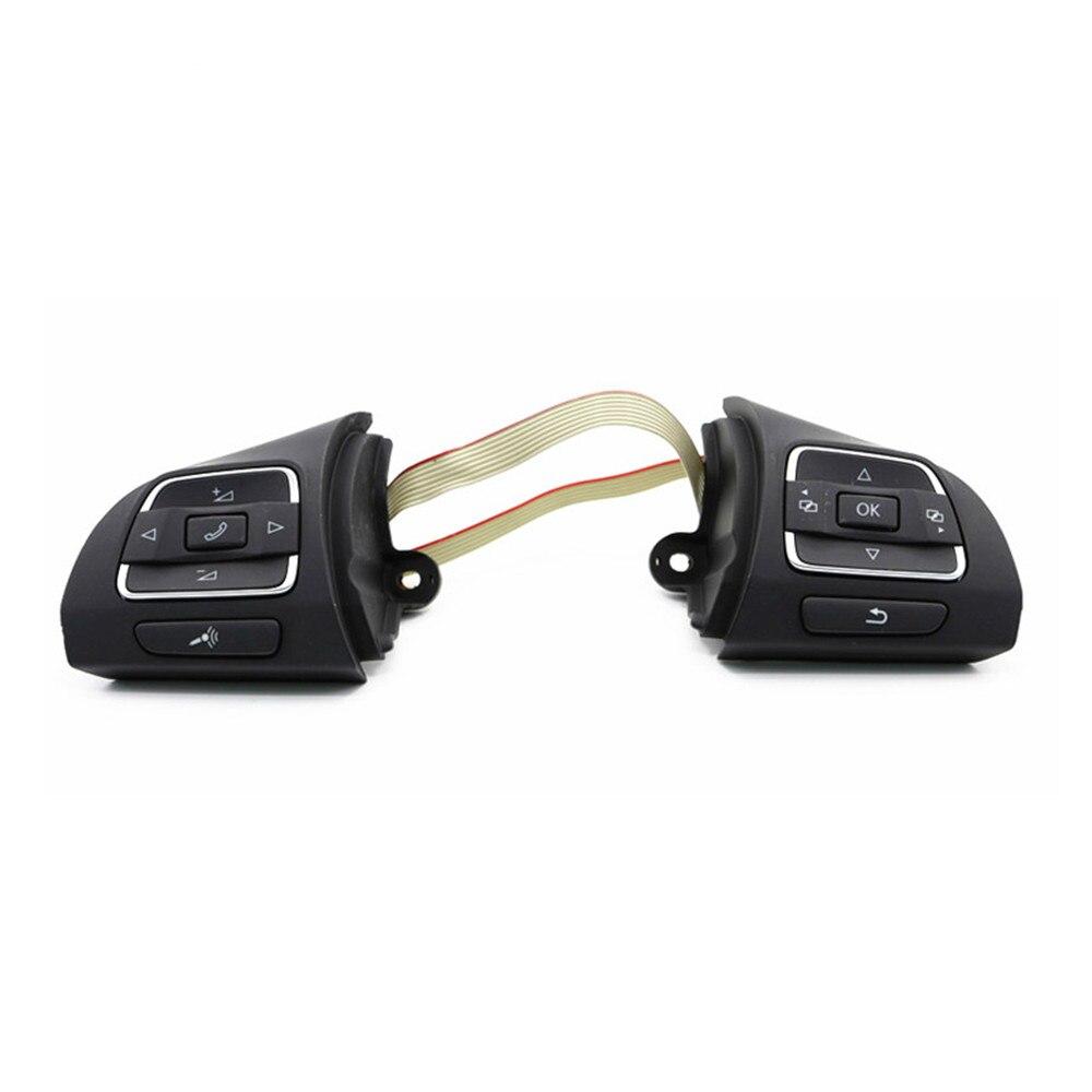 VW MF Steering Wheel Buttons Switch Left Right Fit VW Jetta Golf MK6 Tiguan EOS CC Caddy 5K0 959 542 C 5C0959537A 5C0959538B детские наклейки мозаика синтез книжка с наклейками для самых маленьких малышка