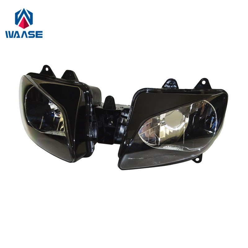waase For Yamaha YZF R1 1998 1999 Front Headlight Headlamp Head Light Lamp Assembly