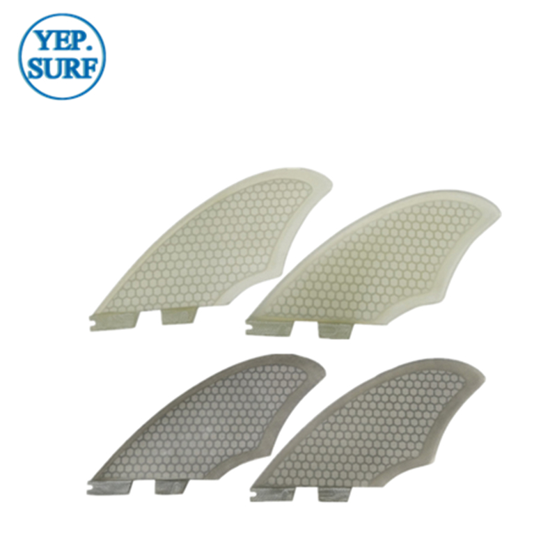New Design Surfing Surfboard FCS2 Keel fin FCSII Keel Fin Twin fin set 2 PCS per set black white color in Surfing from Sports Entertainment