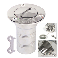 CITALL 1 5inch 39mm Silver 316 Stainless Steel Boat Marine Yachts Campervans Tractors Deck Gas Fuel