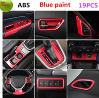 Car styling stickers, decorative accessories, modified 19PCS/ sets Accessories For Suzuki Vitara 2016 LHD