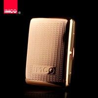 Cigarette Box Thin 16 Packed Men's Cigarettes Personality Creative Automatic Metal Pure Copper Cigarette Box