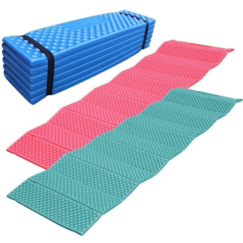 190*57cm Outdoor Camping Mat Sleeping Pad Egg Crate Foam Picnic Hiking Beach mat Moistureproof Pad Yoga Mats Ultralight Mattres