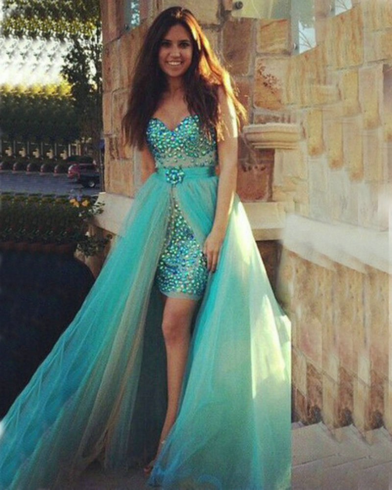 Prom Dress With Detachable Train: Popular Dress Removable Skirt-Buy Cheap Dress Removable