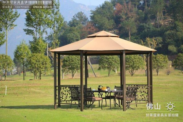 Factory direct octagonal pavilion sun roof shade awning Punta luxurious outdoor seating pavilion tent canopy & Factory direct octagonal pavilion sun roof shade awning Punta ...