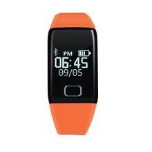 Smart Band T1 сердечного ритма Смарт часы-браслет сердечного ритма Мониторы Беспроводной Фитнес трекер Браслет для Apple и Android