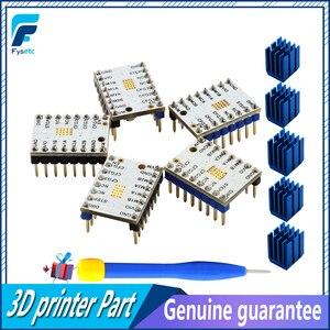 Image 4 - 5 sztuk TMC2100 V1.3 TMC2130 TMC2208 TMC2209 v3.1 TMC5160 TMC5161 silnik krokowy sterownik StepStick cichy 3D części drukarki