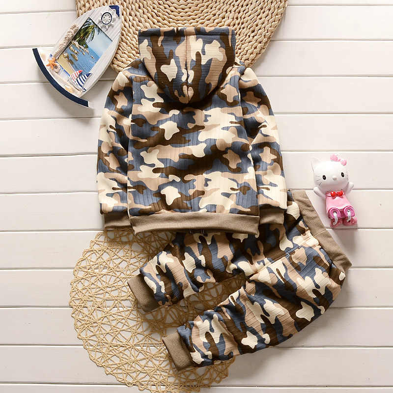 fb1411ed7 ... Army Camouflage Baby Boy Girl Set Long Sleeve Top Newborn Baby Suit Boy  Clothing Printed Sets ...