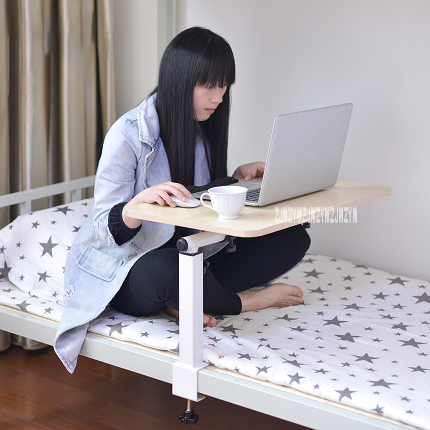 K1 Folding Dormitory Computer Study Table Bed Desk Household  Portable Lazy Desk Simple Small Table Bedroom Writing Desk