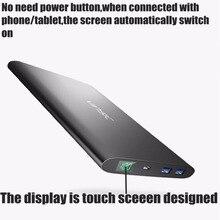 20000 mah Powerbank Alien P2 Dual usb 4A for iPhone Samsung Xiaomi Huawei External Battery Universal