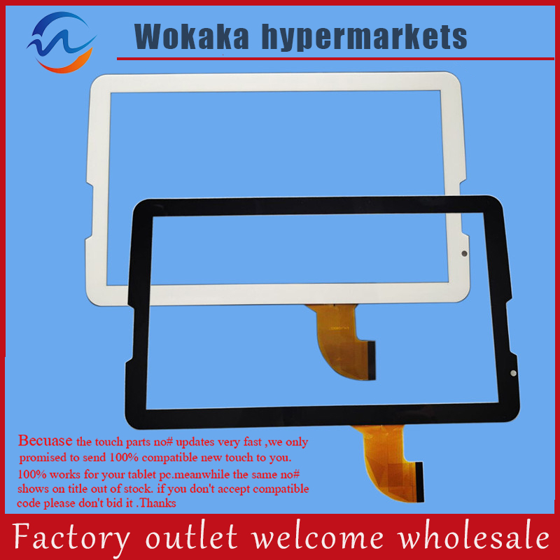 цена на Black/white for Original New 10.1 inch DH-1054A1-PG-FPC173 Tablet Touch panel Glass Sensor replacement Free Shipping