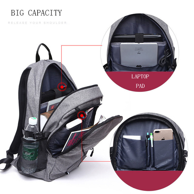 Sports Bag Black Outdoor Fitness Training Bag Basketball Backpack Man 15.6 Inch Laptop Schoolbag SportS Soccer Gym Bag pack Male 3