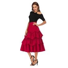 Cake Half-length A-shaped Super Immortal Layer Short Skirt Leisure Loose Pure Pompon Skirt цена и фото