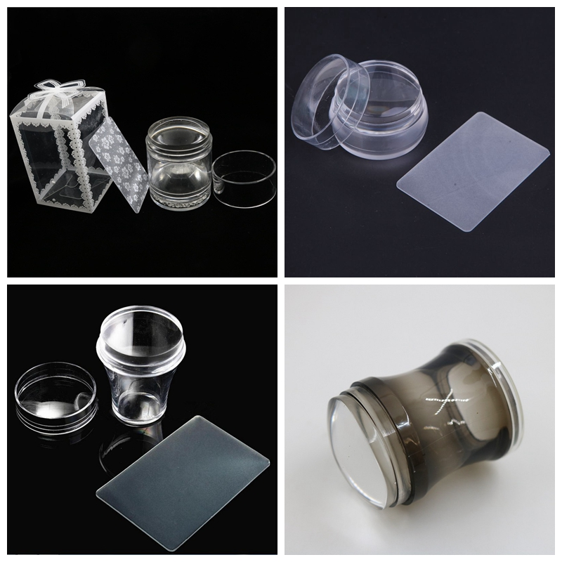 Nail Art Templates Loyal 1pc 3.5-4cm Xl Jelly Stamper Pure Clear Jelly Silicone Nail Art Stamping Stamper With Cap For Nail Stamp Nail Art Yz 16/17/19/30 Providing Amenities For The People; Making Life Easier For The Population