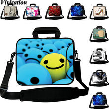 For DeeQ Macbook Air Microsoft Surface Pro 4 Laptop Bag 12.3 12 14 15 17 10 13 12.9 13.3 Notebook Case Casual Messenger Handbag(China)