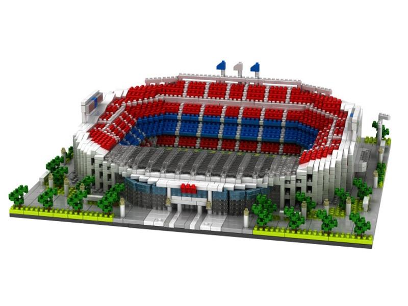 Kit de construcción de campo de estadio de legoed No compatible con el gran fútbol mini nanoed micro bloque de ladrillo de la arquitectura de la Copa chico-in Bloques from Juguetes y pasatiempos    3